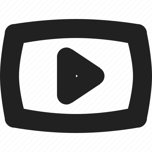 play, youtube icon