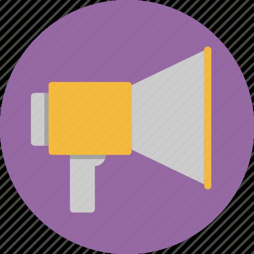 audio, megaphone, message, shout, talk icon