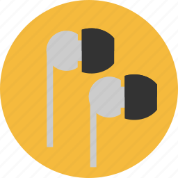audio, earphones, earpods, headphones, listen, music, sound icon