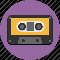 audio, cassette, music, sound, tape icon