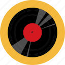audio, music, record, sound, turntable, vinyl icon