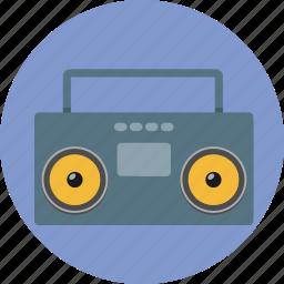 audio, cassette, music, radio, sound, tape icon