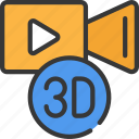 augmented, d, reality, three, video