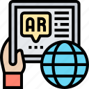 ar, software, application, interface, visual