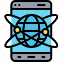 mobile, ar, network, display, hologram