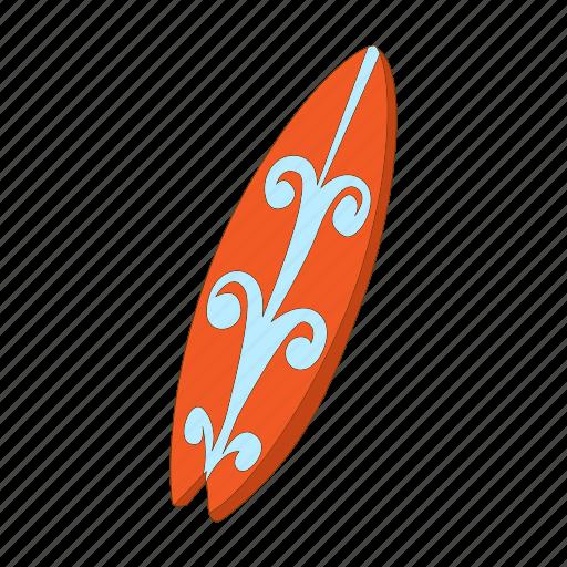 board, cartoon, sport, summer, surf, surfboard, surfing icon