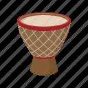 australia, cartoon, colorful, culture, drum, percussion, vectior icon