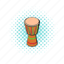 australia, celebration, colorful, comics, culture, drum, percussion icon