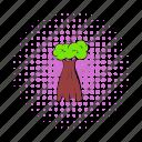 africa, baobab, comics, natural, nature, plant, tree
