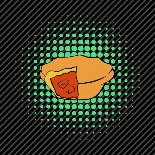 australian, comics, food, meat, pastry, pie, traditional icon