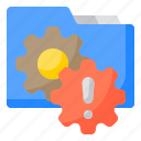 authentic, business, folder, looking, people, security, technology icon