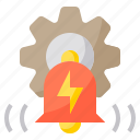 authentic, business, device, looking, notification, people, technology icon