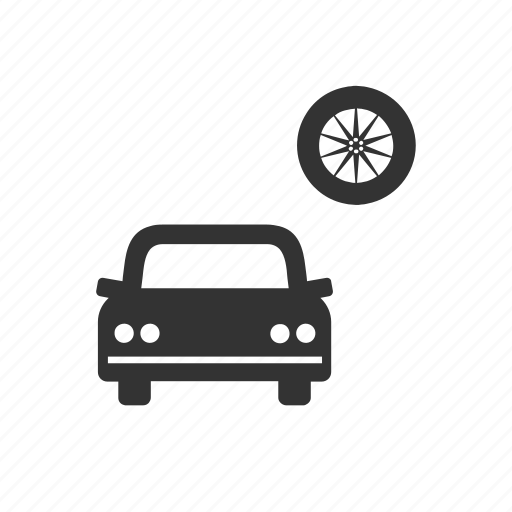 auto, car, garage, motor, repair, service, wheels icon