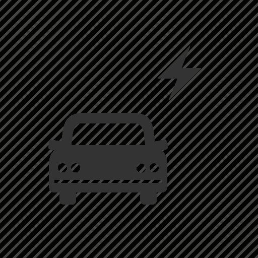 auto, car, electrician, garage, motor, repair, service icon