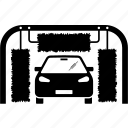 auto, automatic, car, machine, tunnel, wash, washing icon