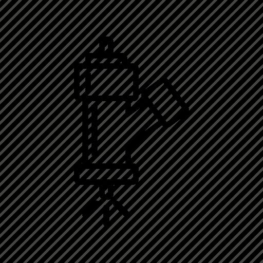 automobile, automotive, car part, injector icon