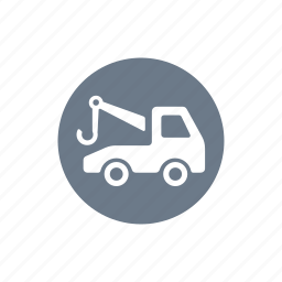 auto service, car, tow, tow away, tow away service, tow away zone, truck icon