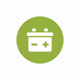 auto, auto battery, battery, car battery, service icon