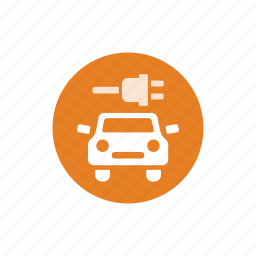 auto, battery, car charger, charger, service icon