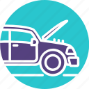 auto mechanic, auto service, car, car repair, engine, mechanics, repair icon icon