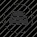 car, auto, automobile, exchange, update, arrow, vehicle