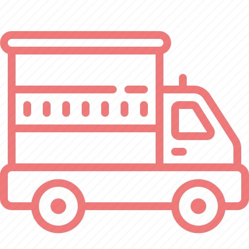 automobile, car, cargo, truck, vehicle icon