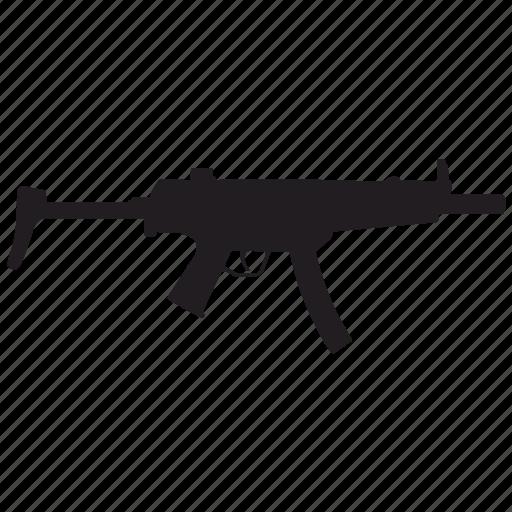automatic, enemy, gun, shooting, swat icon