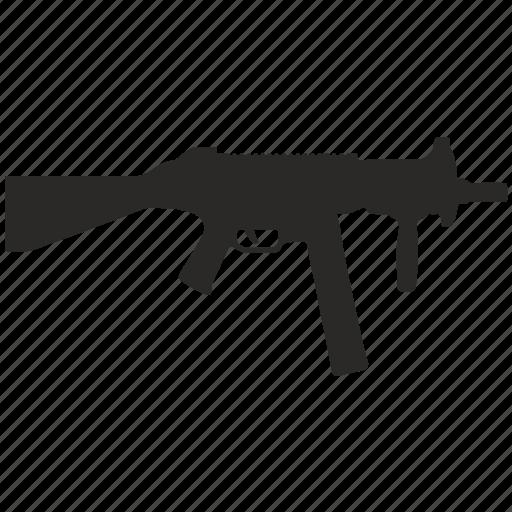 automatic, gun, shooting, swat, weapon icon