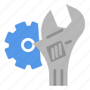automotive, car, fix, garage, maintenance, service icon