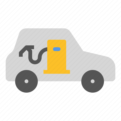 car, charge, drive, fuel, gas, power, refuel icon