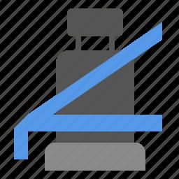 belt, car, safe, safety, seat icon