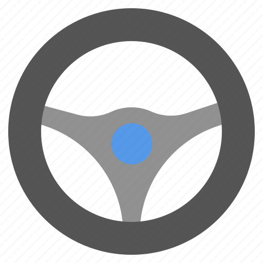 automotive, car, drive, overstreer, steering, wheel icon