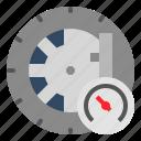 car, check, drive, journey, pressure, safe, tire icon