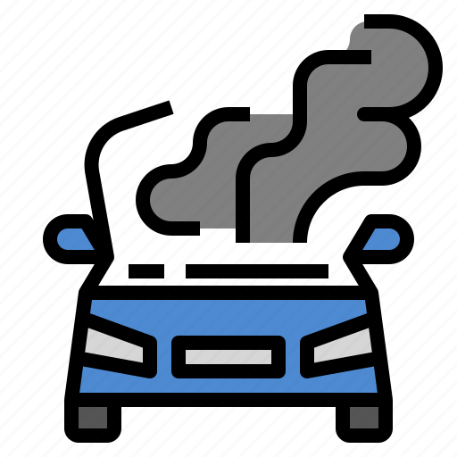 Burn, car, heat, hot, overheats icon - Download on Iconfinder