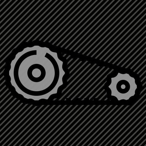 automotive, belt, car, engine, timing icon