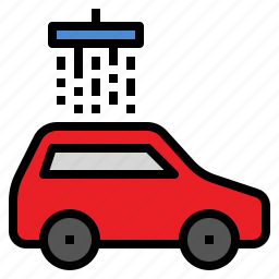 car, clean, wash, wax icon