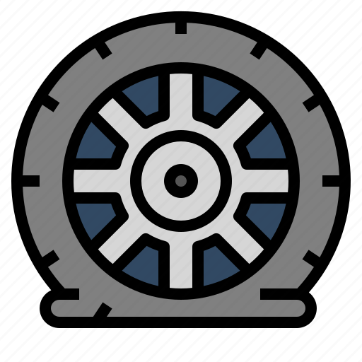 Accident, car, fix, pressure, tire icon - Download on Iconfinder