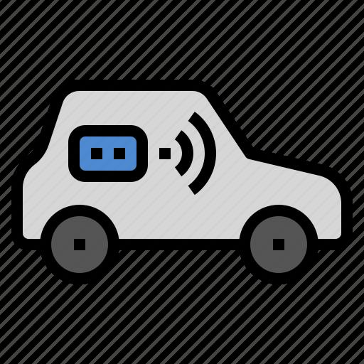 automatic, automotive, control, drive, remote, smart, wifi icon