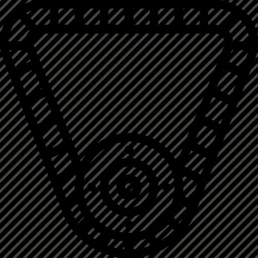 Belt, fan, motor, automotive, engine icon - Download on Iconfinder