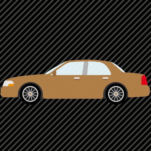 automotive, car, limousine, sedan, transportation, vehicle icon