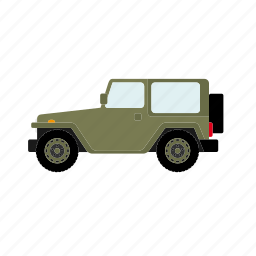automotive, car, military, offroad, transportation, vehicle icon
