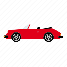 automotive, convertible, roadster, sportscar, transportation, vehicle icon