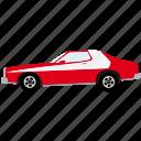american, automotive, car, muscle car, transportation, vehicle, vintage icon