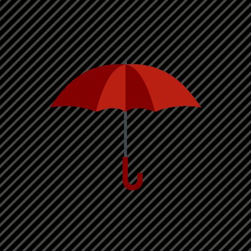 handle, meteorology, open, protection, rain, umbrella, weather icon