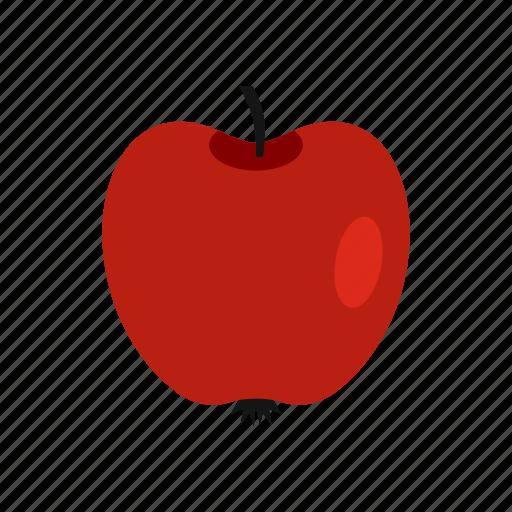 apple, food, fresh, fruit, healthy, nature, organic icon