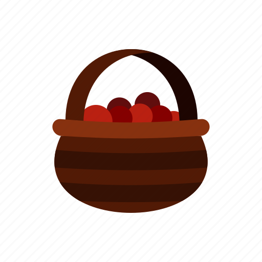 basket, berries, berry, food, fruit, healthy, nature icon