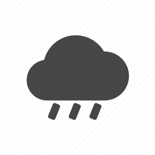 autumn, cloud, rain, weather icon