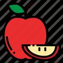 apple, fresh, fruit, red, sweet