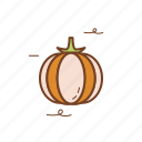 autumn, season, fall, pumpkin icon