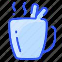 beverage, chocolate, cinnamon, coffee, drink, hot, mug